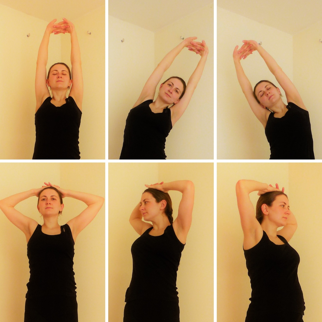 Pregnancy Yoga 101 Number 4 Palm Tree Sequence