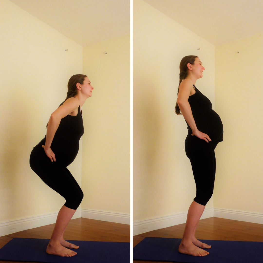 Pregnancy Yoga 101 Number 8 Pelvic Scoops