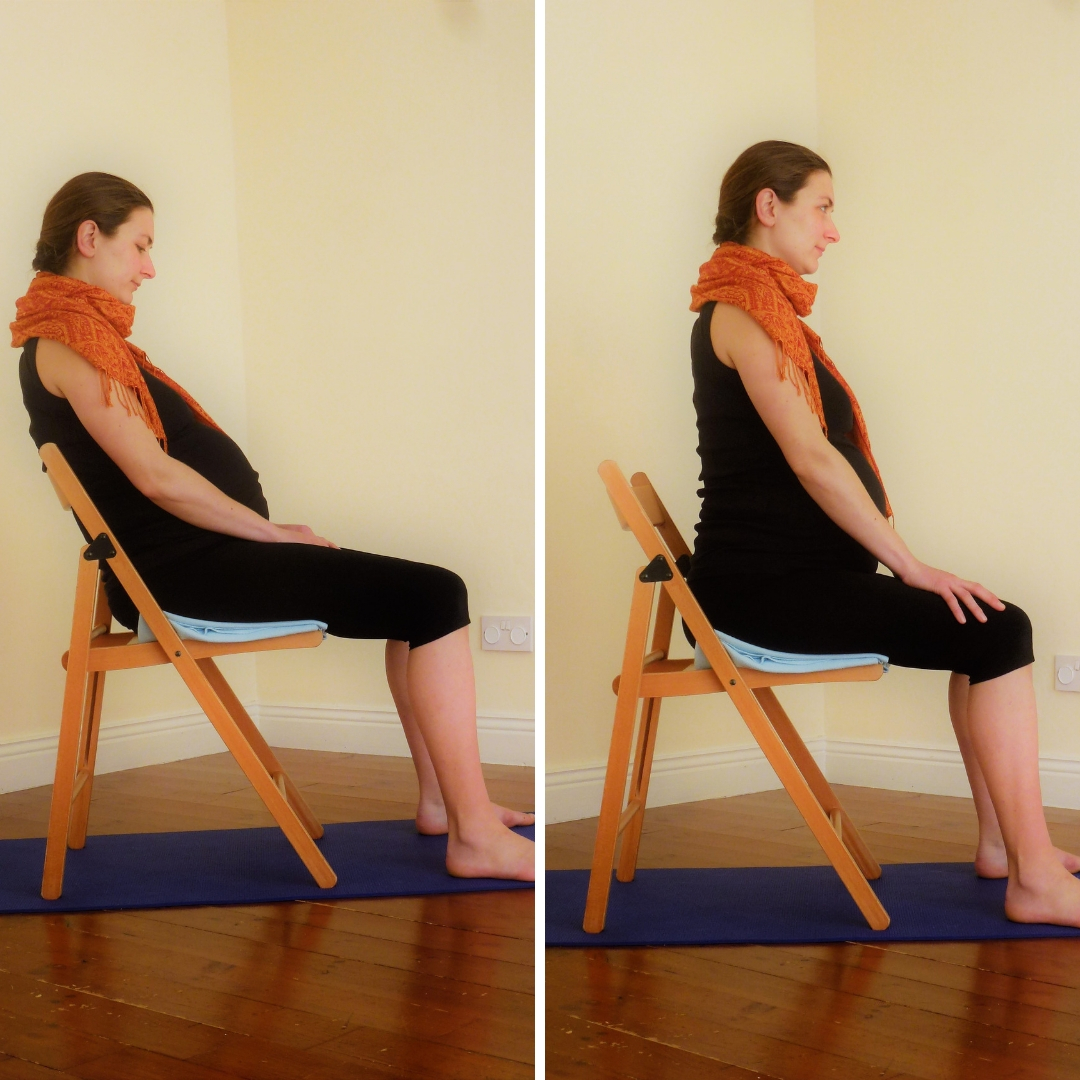 Pregnancy Yoga 101 Number 8 Sitting